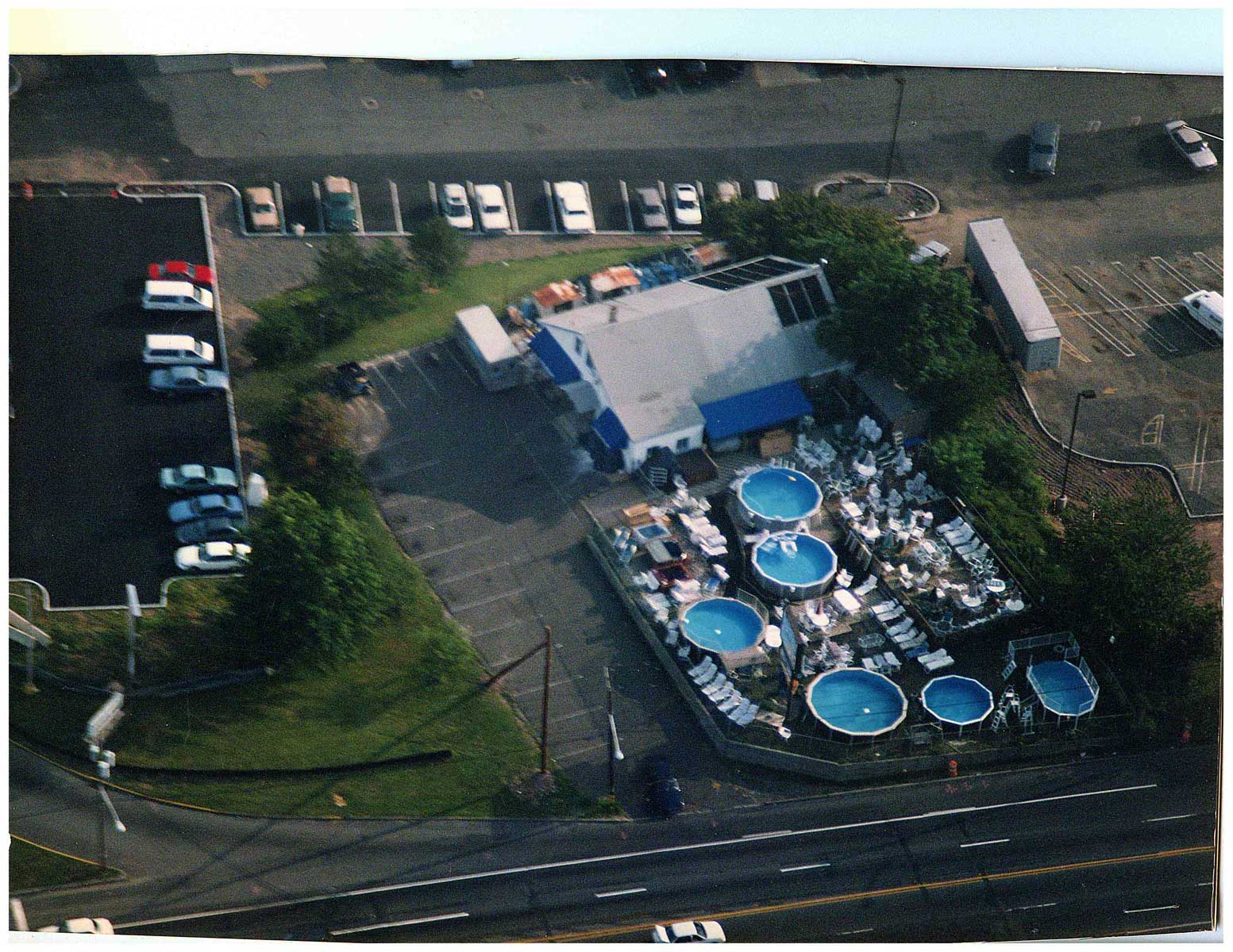"""""""Westrock Pools mid 1980's"""" One of the first stores on Route 59. The Nanuet Mall and Sears Roebuck was built around us!"""
